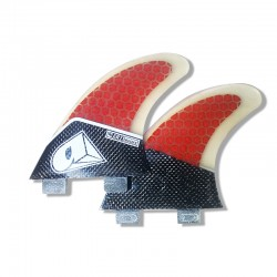 Airush AR3 FCS Fins Red