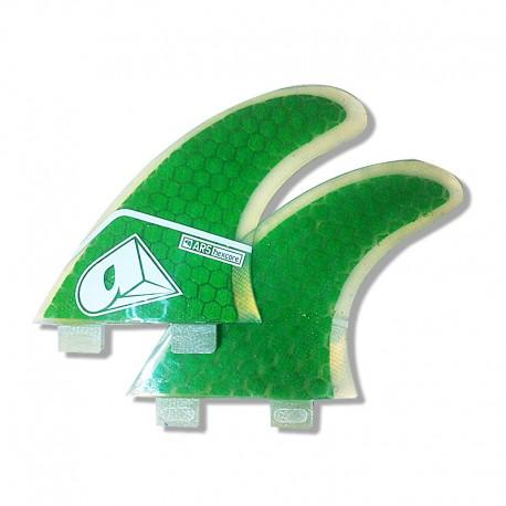 Airush AR5 FCS Fins Green