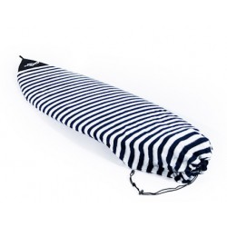 "FCS Stretch Shortboard 6'0"" Surfsock Navy Stripe"