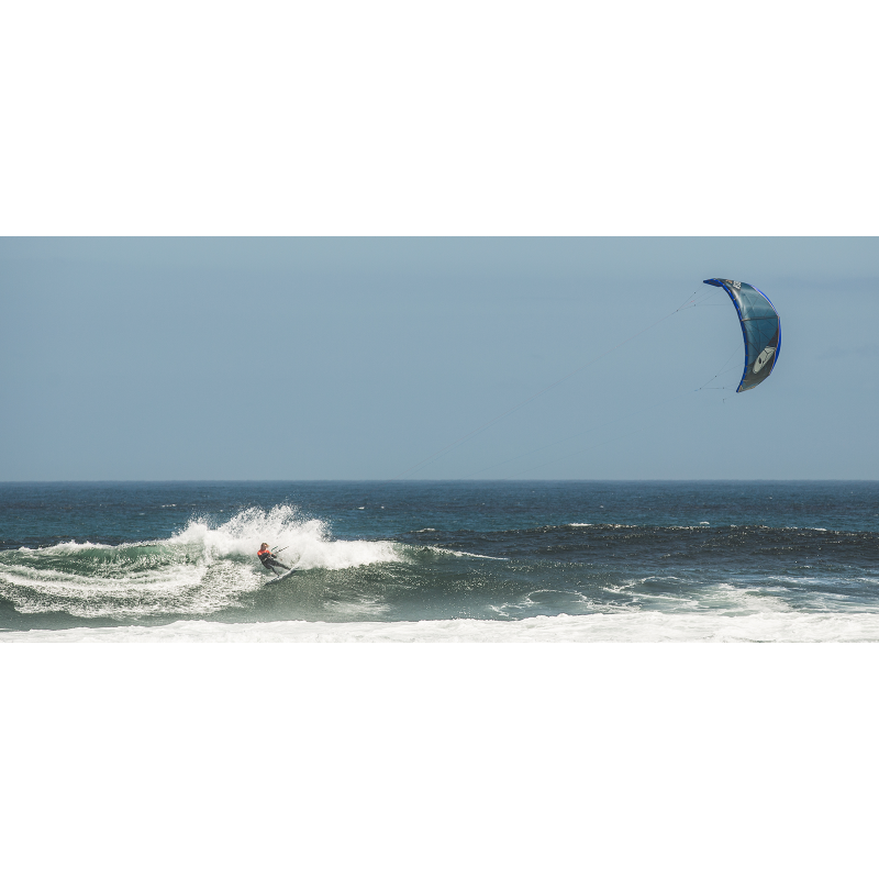 Kitesurfen Airush Wave Blue Reefer Kite 2017