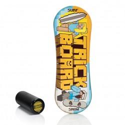 Trickboard Classic Pixel + Roller - Balanceboard