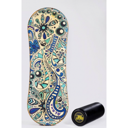 Trickboard Classic Aloha + Roller - Balanceboard