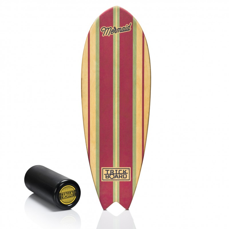 Balance Board With Roller: Trickboard Fishboard Mermaid + Roller
