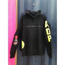 ADP Multiprinted Hoody Black