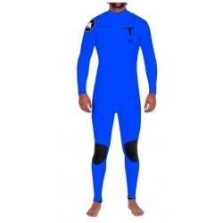 Janga Minimal Man, 4/3mm, Chest-Zip, Electric Blue
