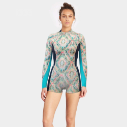 Billabong Surf Capsule Fever Longsleeve Springsuit, 2/2 mm Aloe