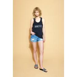 SURF INC. Bikini Top Black
