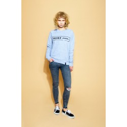 SURF INC. Sweatshirt Heather Grey