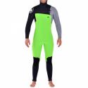Janga Minimal Frigid, 6,5 mm, Hooded, Black/Grey/Neon Green