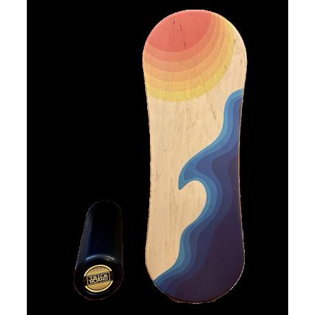 Trickboard Classic Coast + Roller - Balanceboard